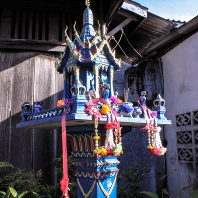 Blue Temple, Ban Tai, Thailand