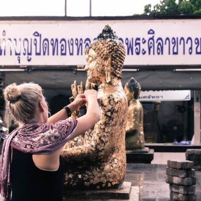 Bunz, Laney, Phra Pathom Chedi, Thailand
