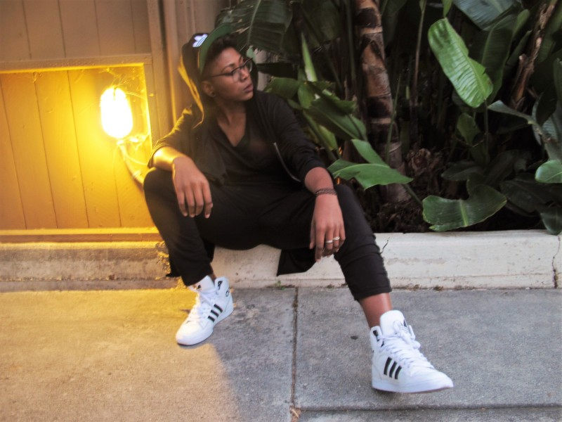 Cali Lovin, Afrika Sharif, Model, West Hollywood
