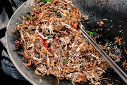 Chili Crabs, Amphawa, Thailand