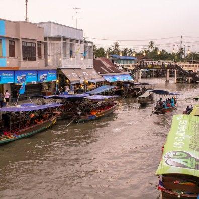 Floating Market, Amphora, Thailand
