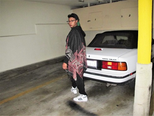 Garage, Afrika Sharif, Model, West Hollywood