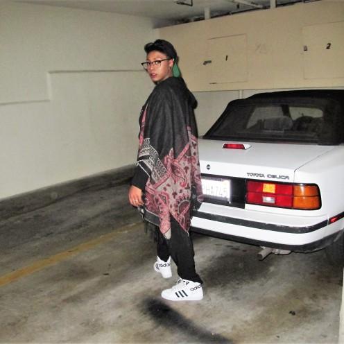 Garage, Afrika Sharif, Model, West Hollywood
