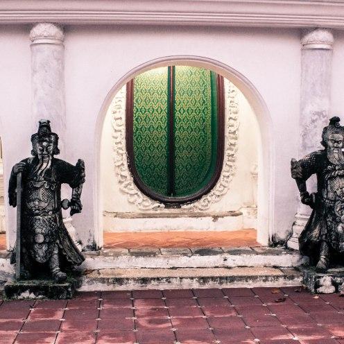Gatekeepers, Phra Pathom Chedi, BKK