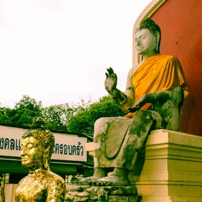 Golden Om, Phra Pathom Chedi