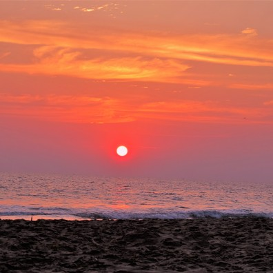 Goodbye Sun, Varkala Beach, India