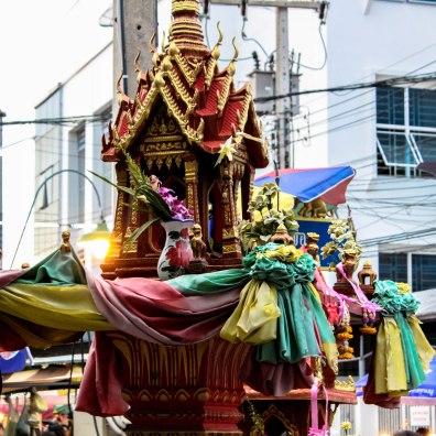 Market Temple, Amphawa, Thailand