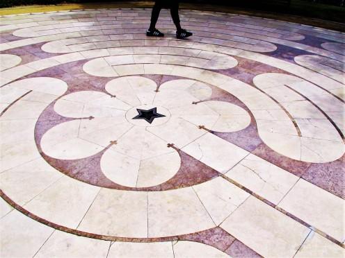 Mind maze, peace labyrinth, LA