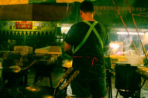 Rainy Stirfry, Chinatown, Bangkok