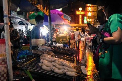 Squid, Chinatown, Bangkok