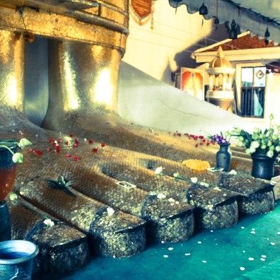 Stinky Golden Feet, Buddha, Bangkok