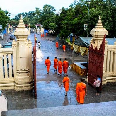 Temple Rain, Phra Pathom Chedi
