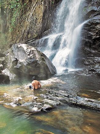 Waterfall, Ooty 3