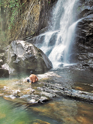 Waterfall, Ooty
