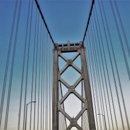 moon bridge, San Fran