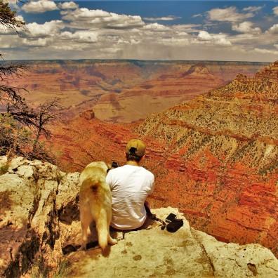 Life's Ledge, Dani, Grand Canyon