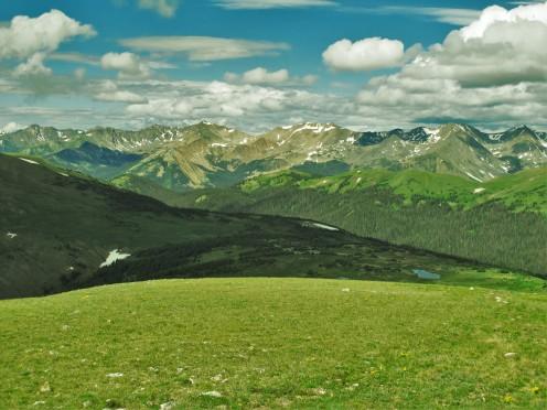 Rocky Ridges, Rocky Mtn National Park, CO