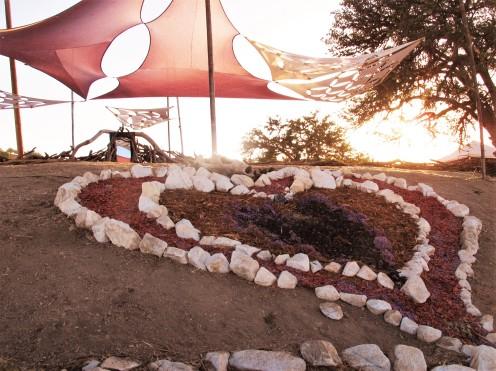 sunrise heart, LIB, Bradley, CA